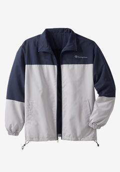 Track Jacket by Champion®, NAVY GREY