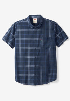 Short-Sleeve Woven Shirt by Levi's®, NAVY CHECK