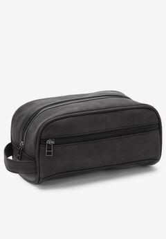 Travel Shaving Bag, BLACK