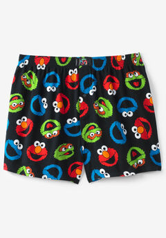 Patterned Boxers, SESAME STREET MURANO