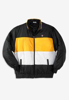 FILA® Tri-Color Puffer Jacket,