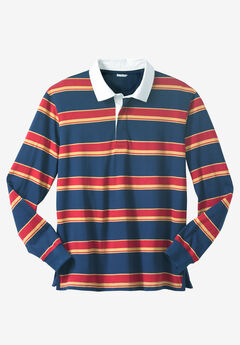 Long-Sleeved Rugby Polo,