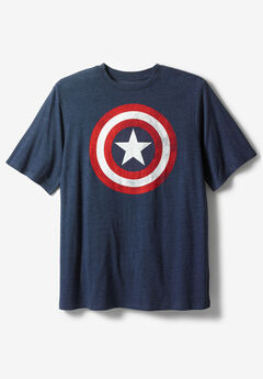 Marvel Graphic Tee, CAPTAIN AMERICA