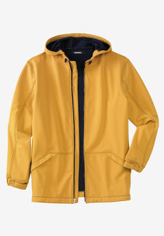 Fleece-Lined Rain Coat,