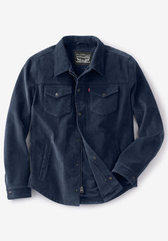 Levi's® Faux Suede Shirt Jacket,