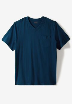 Heavyweight Pocket V-Neck Tee by Boulder Creek®,