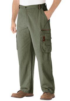 Boulder Creek® Ripstop Cargo Pants, OLIVE