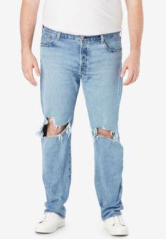 Levi's® 501® Original Fit Stretch Jeans, RIGHTY LEFTY LIGHT