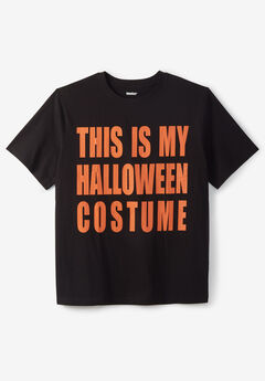 KingSize Seasonal Graphic Tee, HALLOWEEN COSTUME