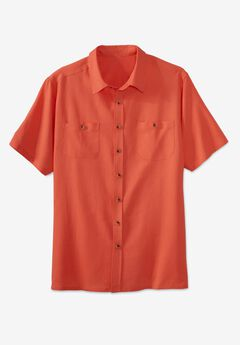 Easy-Care Linen Shirt,