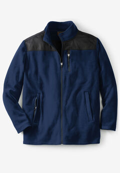 Boulder Creek® Explorer Fleece Full-Zip Shirt Jacket,