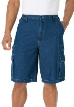 """12"""" Cargo Shorts, STONEWASH"""