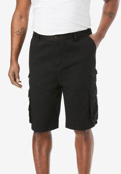 "8"" Cargo Shorts,"
