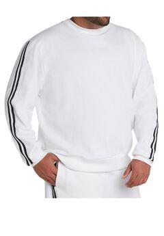MVP Collections® Striped Sleeve Sweatshirt,
