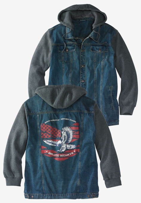 0d04fab1 Denim Jacket by Liberty Blues®| Big and Tall Casual Jackets | King Size
