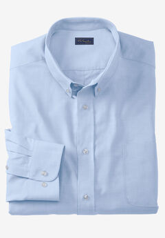 Wrinkle-Resistant Oxford Dress Shirt by KS Signature, SKY BLUE