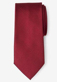 Classic Textured Tie, WINE