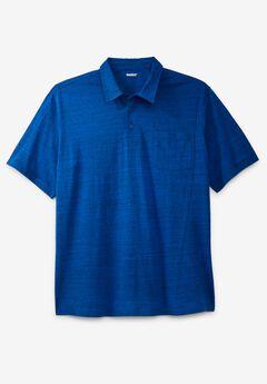 Shrink-Less™ Lightweight Polo T-Shirt,