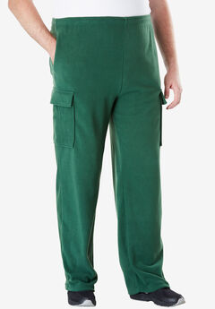 Fleece Cargo Pants,