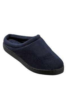 Fleece Clog Slippers, NAVY