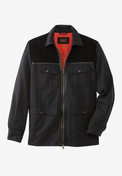 Boulder Creek® 3-in-1 Water-Resistant Jacket, BLACK