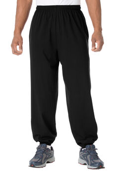 Lightweight Elastic Cuff Sweatpants,