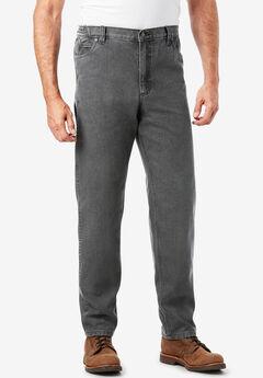 Boulder Creek® Relaxed Carpenter Jeans, DARK GREY DENIM