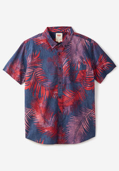 Short-Sleeve Woven Shirt by Levi's®, NAVY LEAF