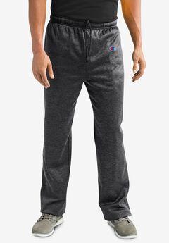 Logo Fleece Open Bottom Pants,