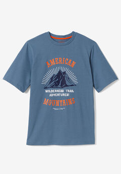 Boulder Creek® Nature Graphic Tee, MOUNTAIN