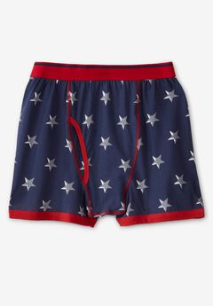Patterned Boxer Briefs,