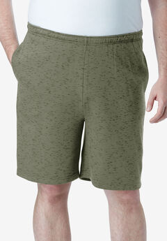 Comfort Fleece Shorts, OLIVE MARL
