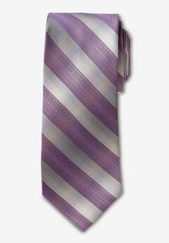 Classic Stripe Tie, DARK PURPLE STRIPE