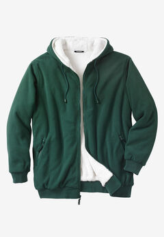 Explorer Fleece-Lined Hoodie, HUNTER