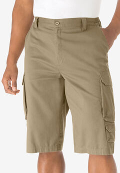 "14"" Cargo Shorts, KHAKI"