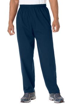Lightweight Jersey Sweatpants, NAVY