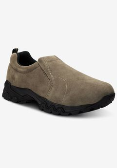 Suede Slip-On Shoes,