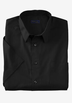 KS Signature No Hassle® Short-Sleeve Dress Shirt,