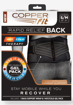 Copper Fit™ Rapid Relief Back Brace,