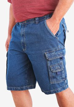 Boulder Creek® Marine 12' Cargo Denim Shorts,