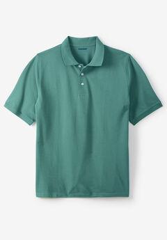 Piqué Polo Shirt, VINTAGE GREEN