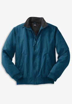 Fleece-Lined Bomber Jacket,