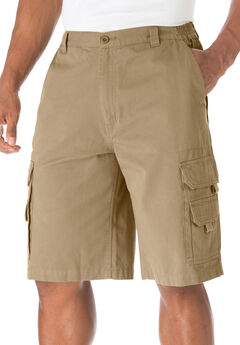 "Boulder Creek® 12"" Denim Cargo Shorts,"