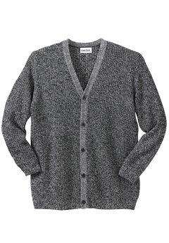Shaker Knit V-Neck Cardigan Sweater,