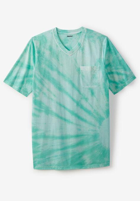 59878bb52e29 Shrink-Less™ Lightweight Longer-Length V-neck T-shirt| Big and Tall ...