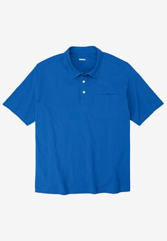 Lightweight Polo T-Shirt, ROYAL BLUE