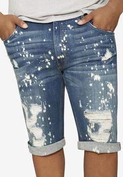 MVP Collections® Painted Denim Shorts,