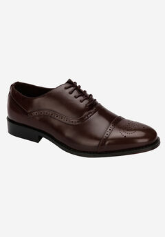 REACTION Kenneth Cole® Solid Sphere Dress Shoes, BROWN