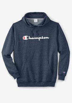 Champion® Script Hoodie,