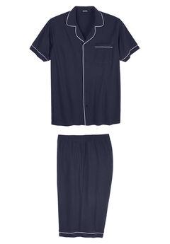 Short Sleeve Pajama Set,